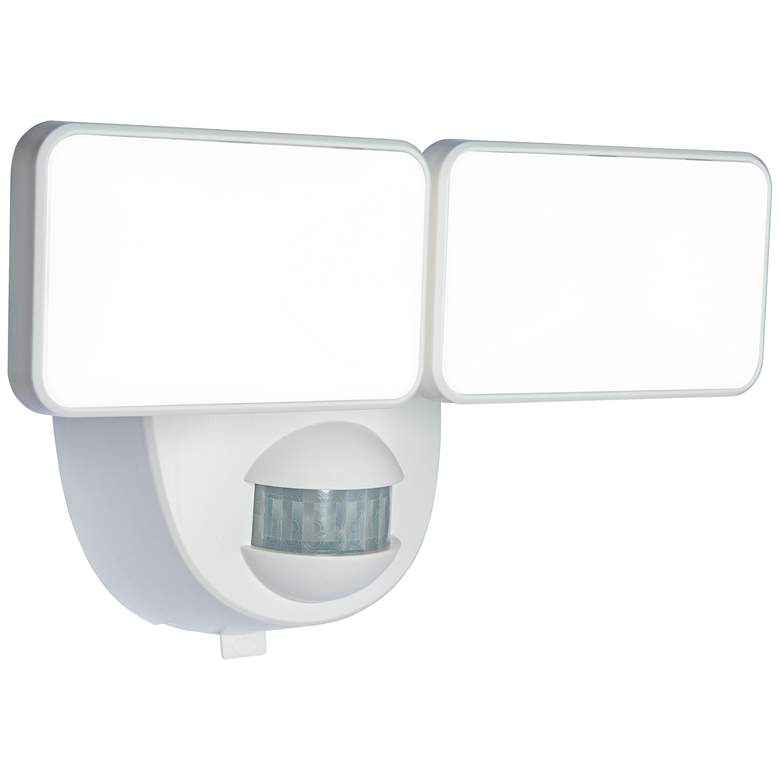 Motion Activated Battery Ed Led Security Light In White 14h07 Lamps Plus