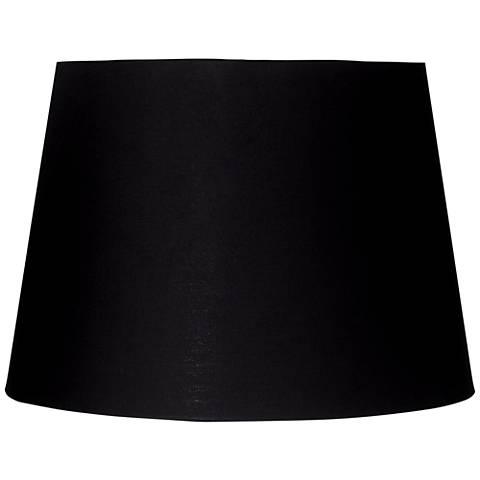 Black rectangular hardback lamp shade 816x816x10 spider u0941 black and antique gold drum lamp shade 11x12x10 aloadofball Image collections