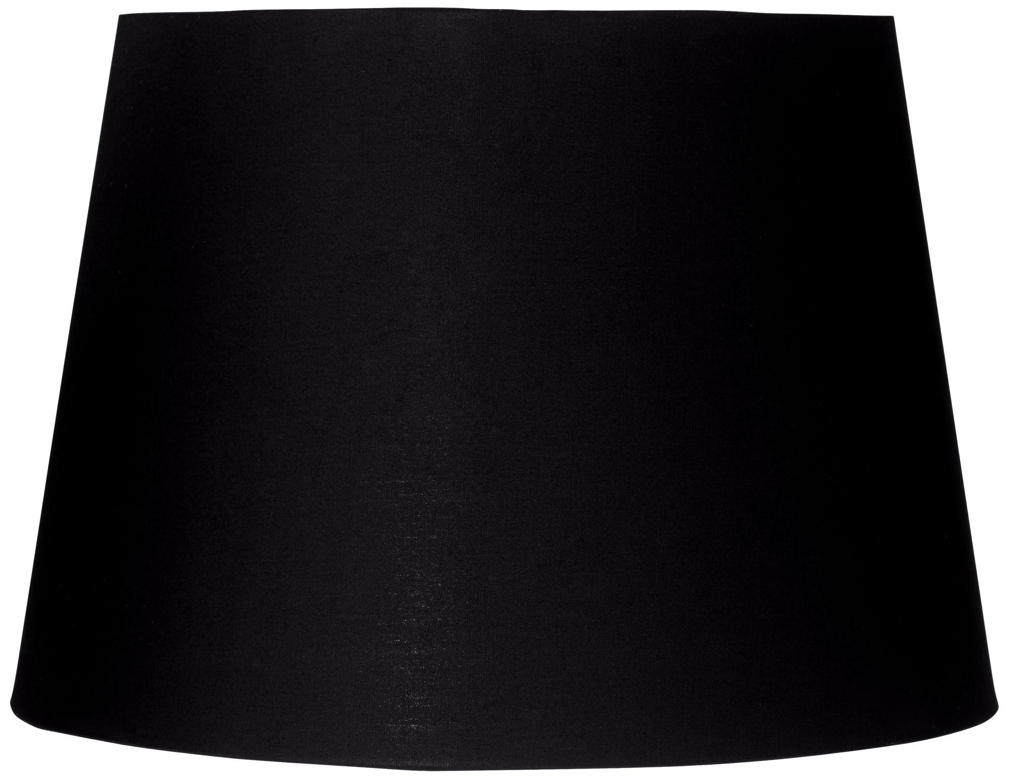 Superb Black And Antique Gold Drum Lamp Shade 11x12x10 (Spider)