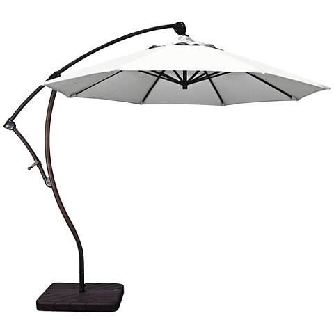 Bayside 9 1/4-Foot Natural Cantilever Market Umbrella