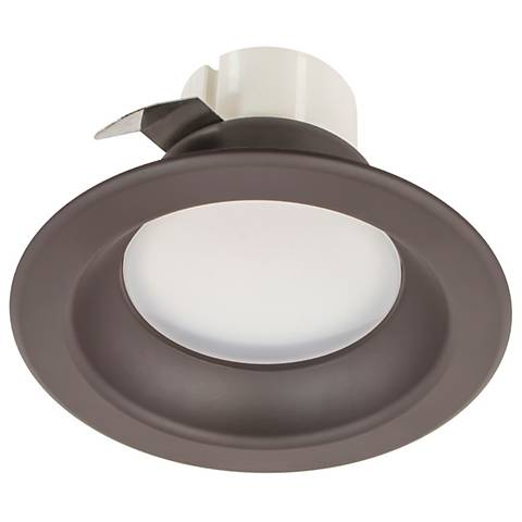 "4"" Bronze 9 Watt Round 550 Lumen LED Retrofit Kit"