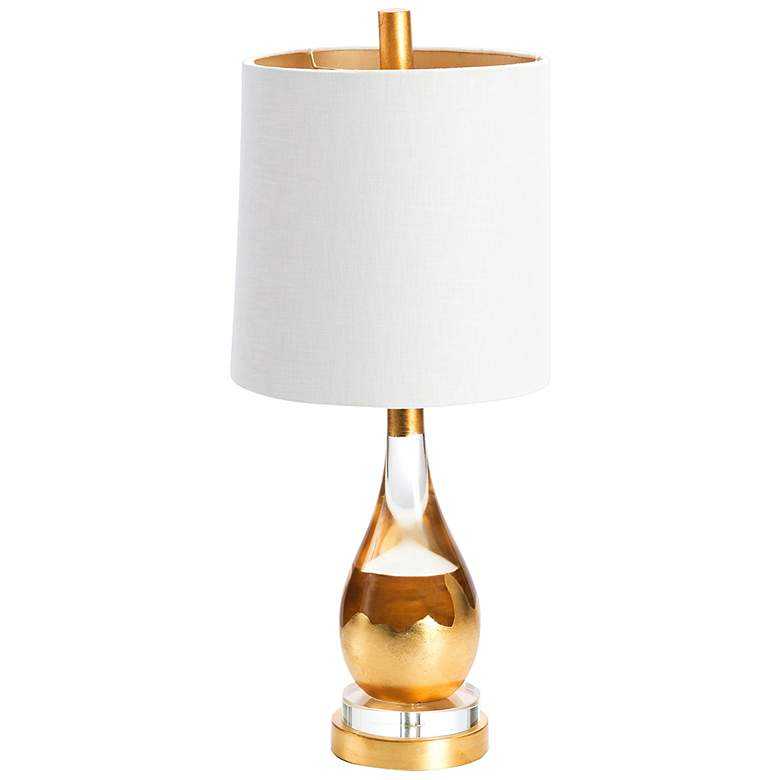 Couture Marabella Gold Leaf Table Lamp