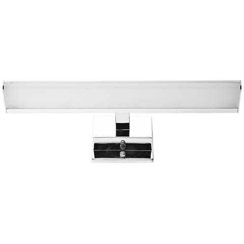"Eglo Tabiano 16"" Wide Chrome 2-Light LED Bath Light"