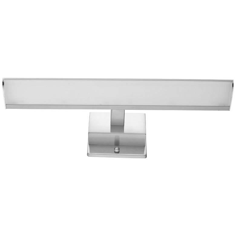 """Eglo Tabiano 16"""" Wide Matte Nickel LED Bath Light"""