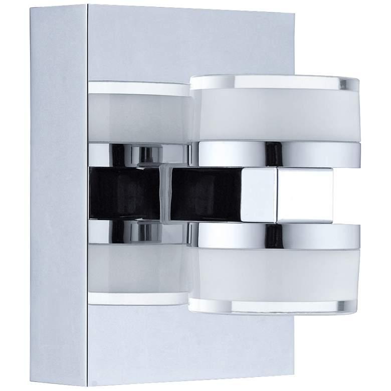 "Eglo Romendo 6 1/4"" High Chrome 2-Light LED Wall Sconce"