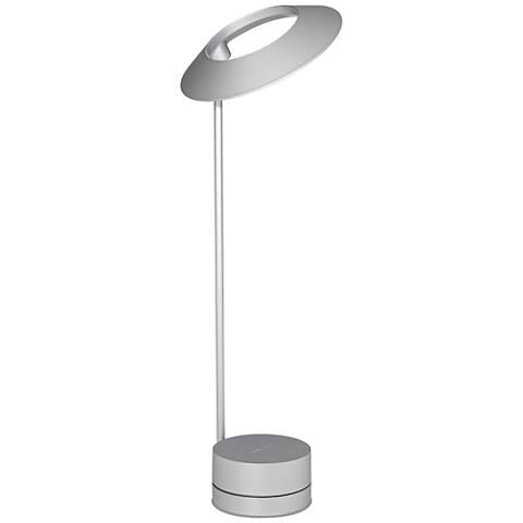 Koncept Occo Silver LED Desk Lamp with USB Port