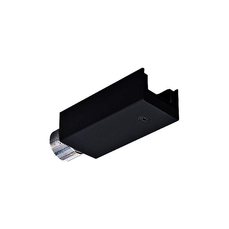 Juno Trac 12 Black Tl34 Track Lighting Conduit Feed
