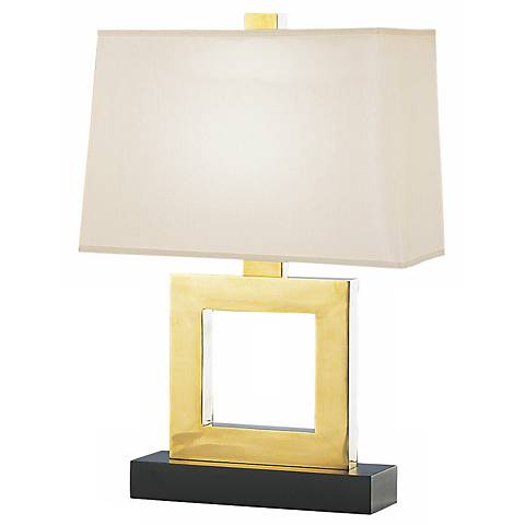 "Duncan Natural Brass 20 3/4"" High Accent Table Lamp"