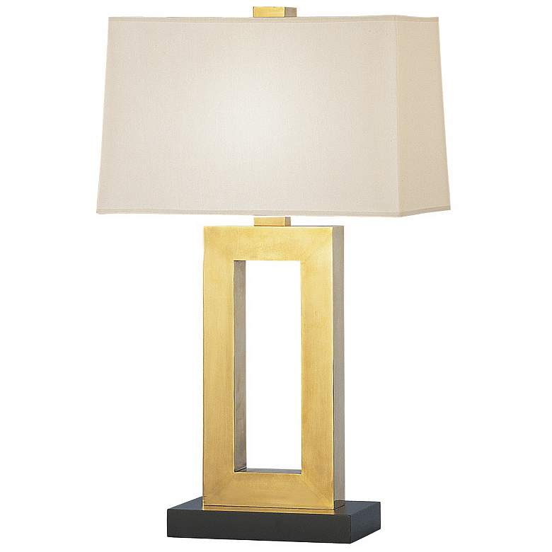 """Jerry 29 1/2"""" High Natural Brass Table Lamp"""