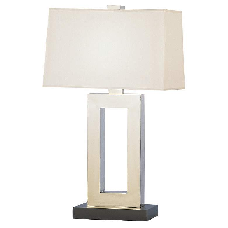 """Jerry 29 1/2"""" High Antique Silver Table Lamp"""