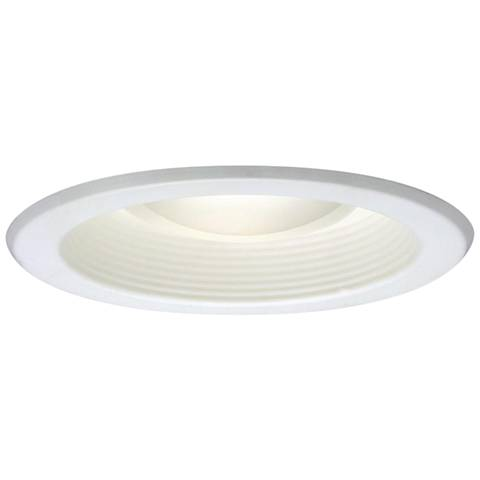 "Halo 5"" White Baffle Recessed Light Trim"