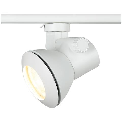 White Low Profile Par 20 Dimmable Track Head