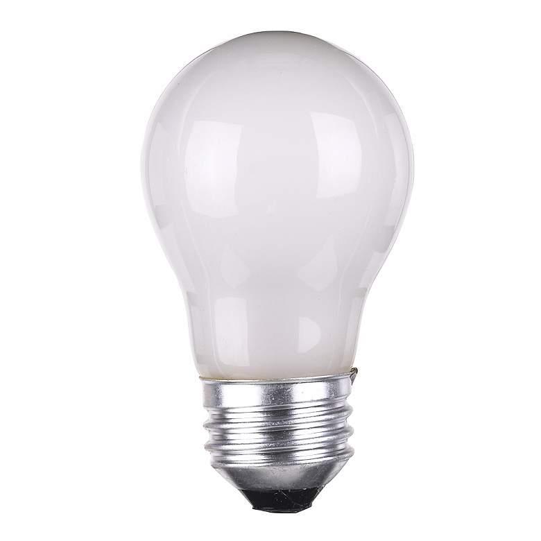 Frosted Light Bulbs >> 60 Watt A 15 Frosted Appliance Light Bulb