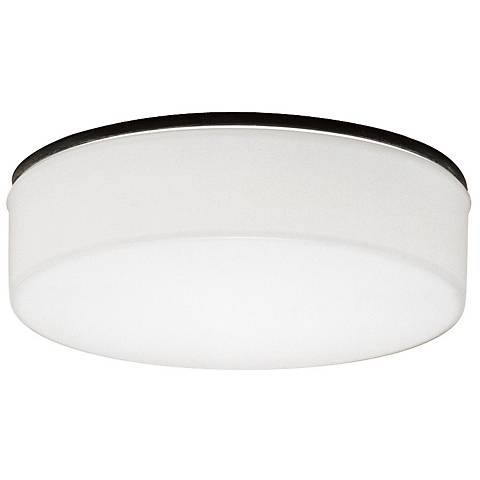 "Lightolier 5"" Wide Opal Glass Diffuser White Reflector Trim"