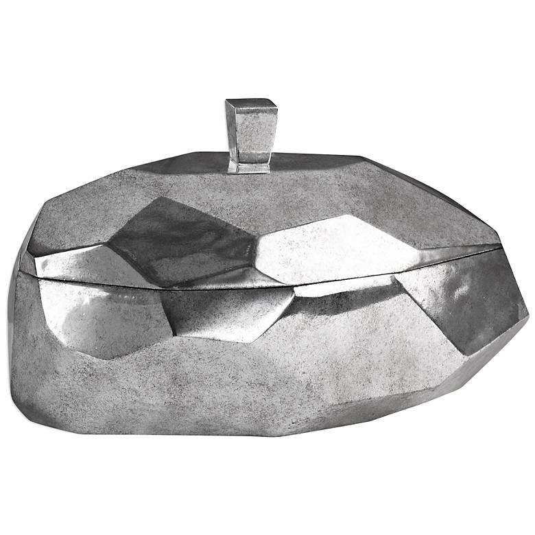 Uttermost Minta Tarnished Silver Box