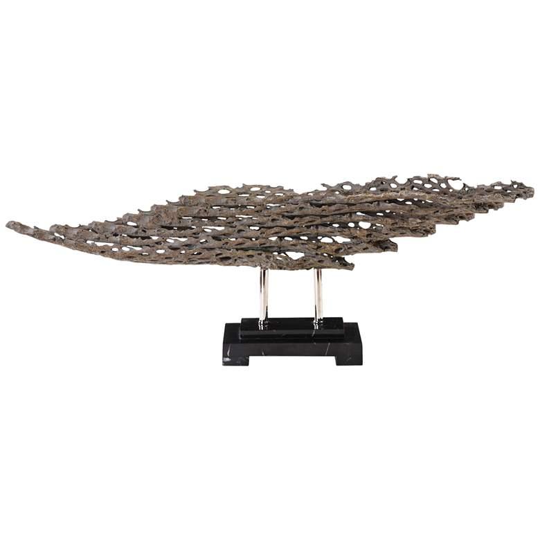 """Uttermost Cholla 30"""" Wide Modern Driftwood Sculpture"""