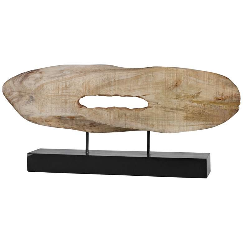 "Uttermost Paol 28 3/4"" Wide Natural Wood Log Sculpture"