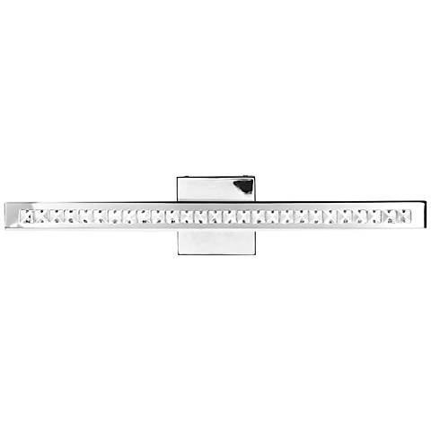 "Affluence 24"" Wide Chrome LED Bath Light"