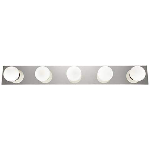 "Classic 36"" Wide Chrome 5-LED Bath Light"