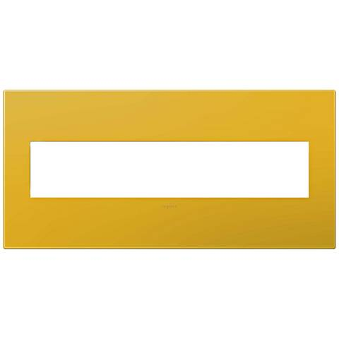 adorne® Honey 5-Gang Wall Plate
