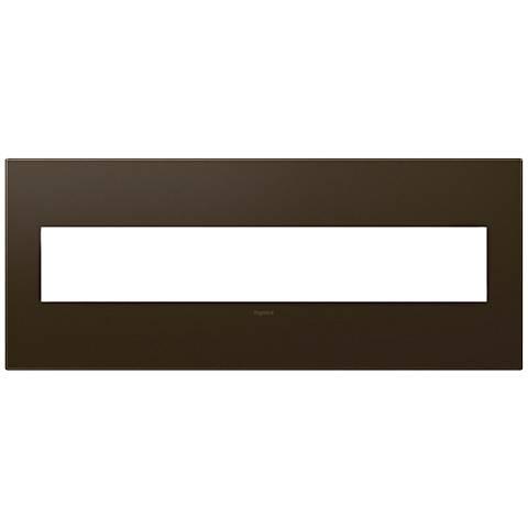 adorne® Bronze 6-Gang Wall Plate