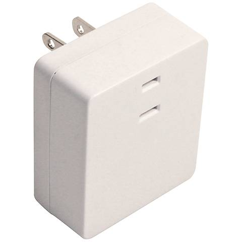 Indoor White Plug-In 3-Level Touch Dimmer