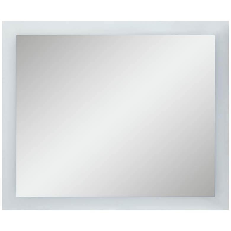 """15P71 - LED Backlit Mirror-48""""x40""""- 4 sides frosted"""