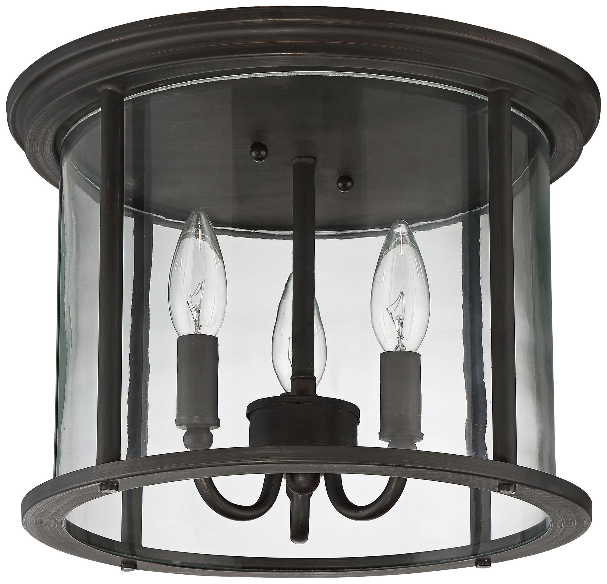 Carlton 13\  Wide Aged Brushed Bronze Outdoor Ceiling Light  sc 1 st  L&s Plus & Craftmade Outdoor Lighting | Lamps Plus