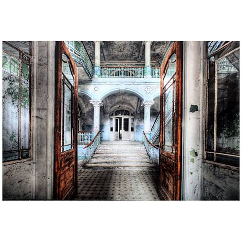 "Crestview Collection Atrium 47"" Wide Wall Art"