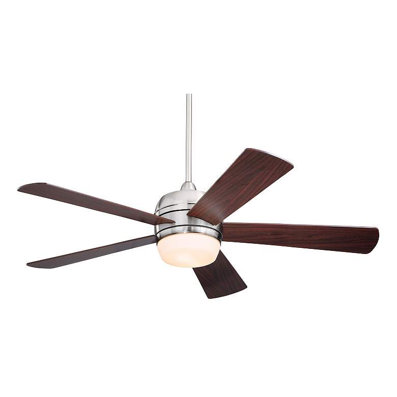 """52"""" Emerson Atomical Brushed Steel Ceiling Fan"""