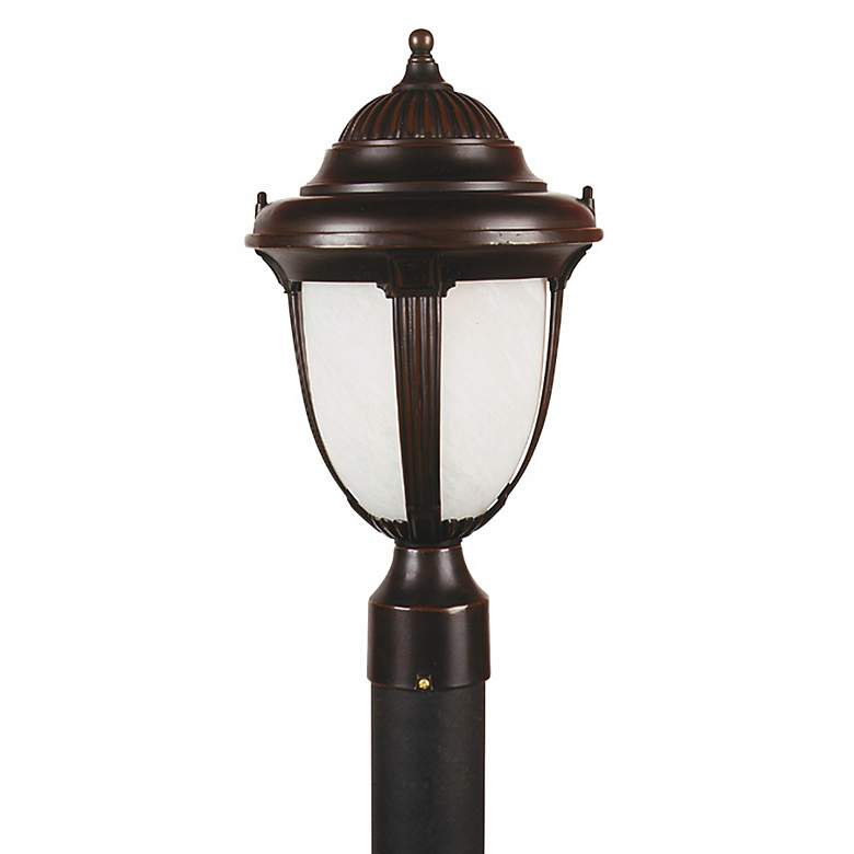 "Casa Sorrento™ 16 3/4"" High Bronze Post Mount Light"