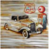 "Crestview Collection Cruiser II 39 1/2"" Square Wall Art"