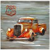 "Crestview Collection Cruiser III 39 1/2"" Square Wall Art"