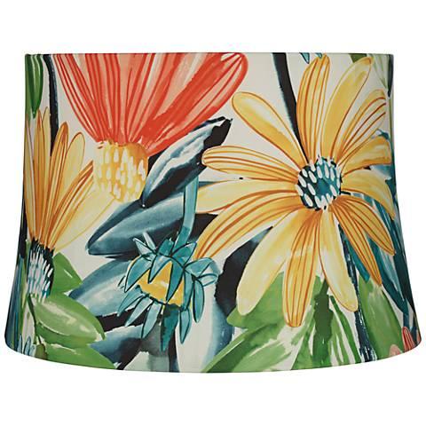 Daisy Hardback Drum Lamp Shade 14x16x11 (Spider)