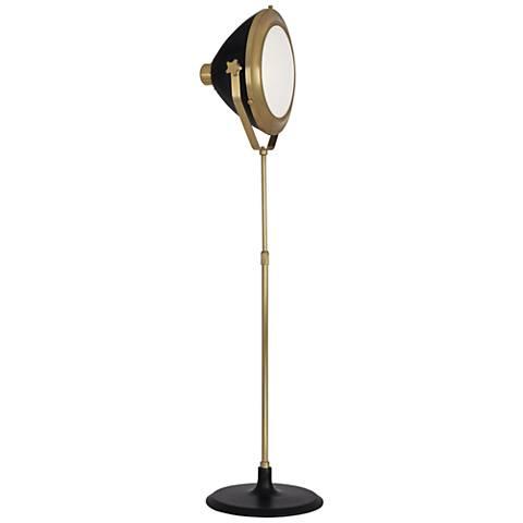 Robert Abbey Apollo Antique Brass Floor Lamp