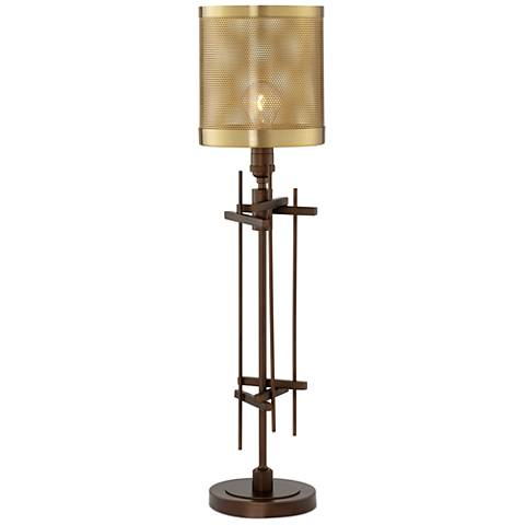 Dezi Oil-Rubbed Bronze Industrial Table Lamp