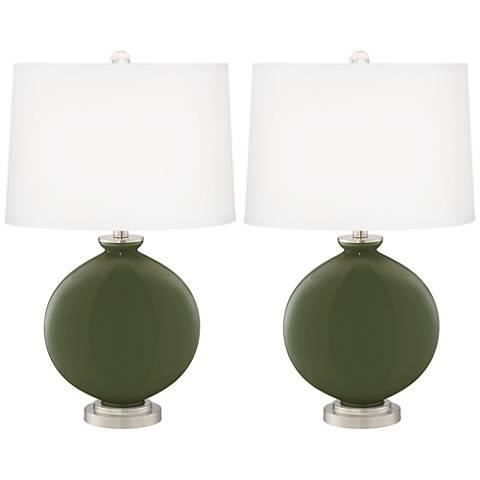 Secret Garden Carrie Table Lamp Set of 2
