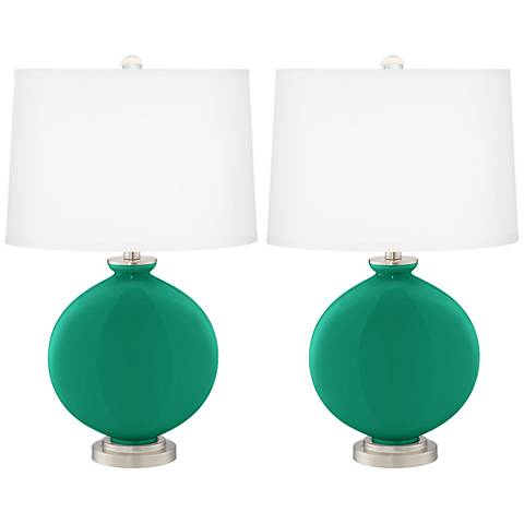 Leaf Carrie Table Lamp Set of 2