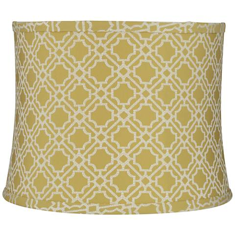 Abuddin Gold Drum Lamp Shade 12x13x10 (Spider)
