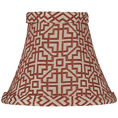 West Lake Wine Lamp Shade 3x6x5 (Clip-On)