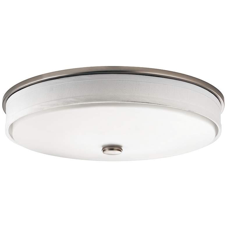 """Kichler Santiago 17 1/4"""" Wide Brushed Nickel LED Ceiling Light"""