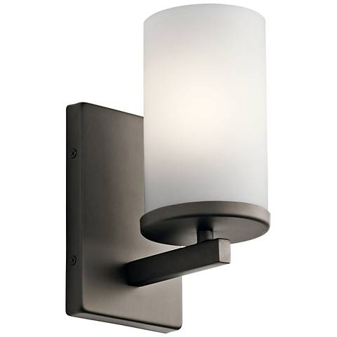 """Kichler Crosby 9 1/4"""" High Olde Bronze Wall Sconce"""