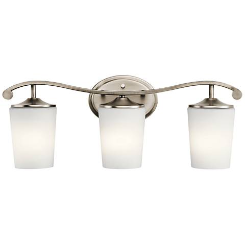 "Kichler Versailles 23""W Antique Pewter 3-Light Bath Light"