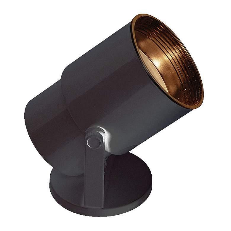 "8"" High Black LED Accent Floor Uplight"