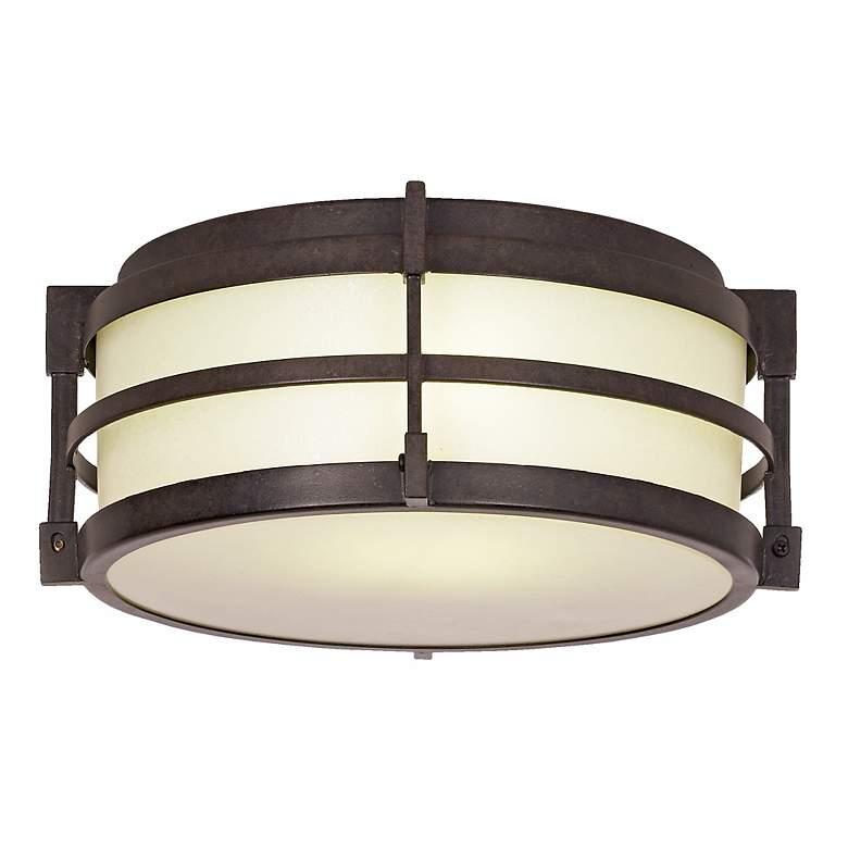 "Mirador Energy Efficient 11 1/2"" Wide Porch Ceiling Light"