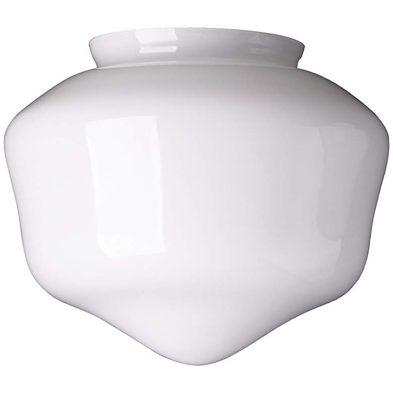 """4"""" Fitter Large Schoolhouse Glass Shade"""