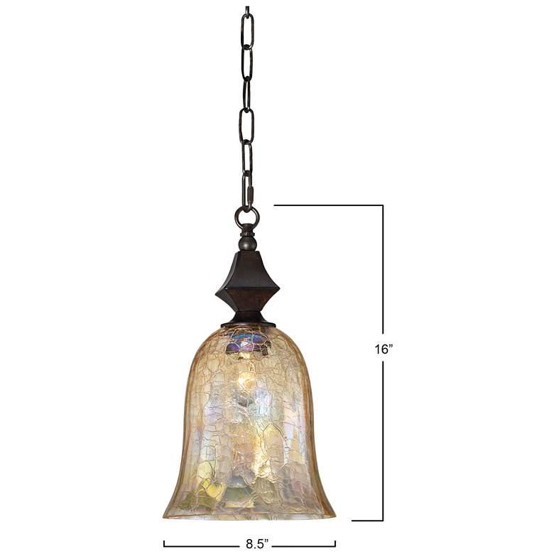 "Elba Collection 8 1/2"" Wide Mini Pendant Chandelier"