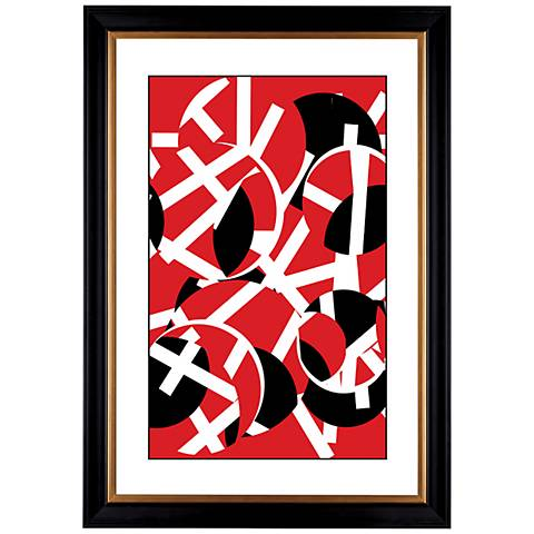 """Giclee Movement 41 3/8"""" High Wall Art"""