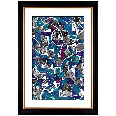 "Giclee Abstract Meditation 41 3/8"" High Wall Art"