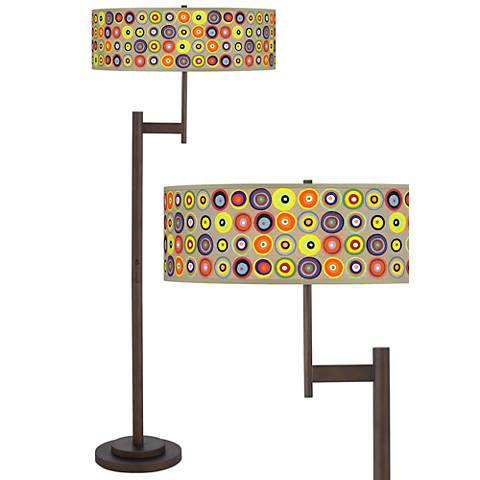 Marbles in the Park Parker Light Blaster™ Bronze Floor Lamp